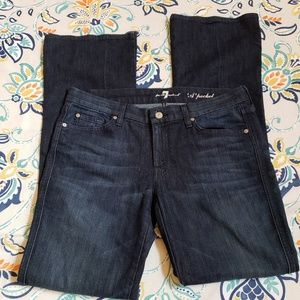 JEANS -7 for all mankind A pocket dark wash. S-32
